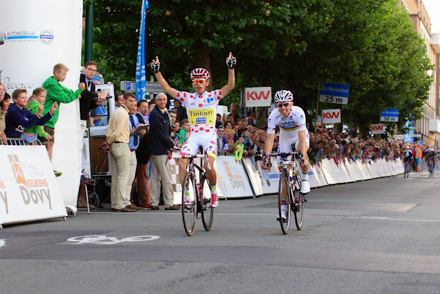 Rafal Majka wint 5e Dovy Natourcriterium Roeselare