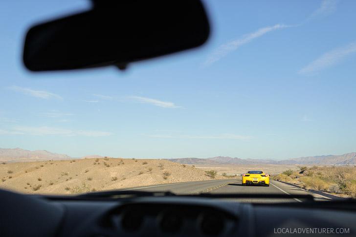 Test Driving a Lamborghini // World Class Driving Las Vegas.