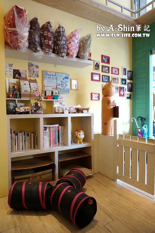 這裡有貓輕食屋cafe1