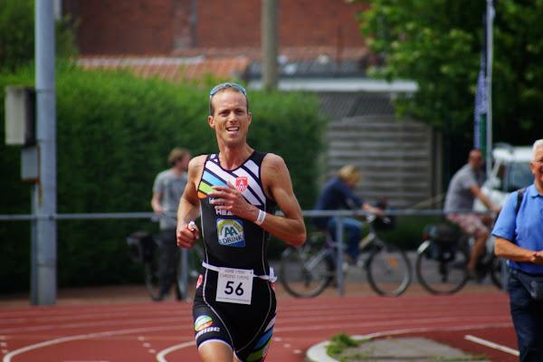 Koen Veramme - 1/8e triatlon Roeselare - 1 juni 2014