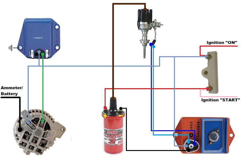 mopar electronic ignition conversion wiring diagram craftsman lt1000 1968 dodge alternator all data oldsmobile