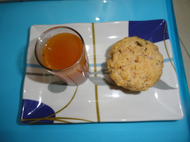 Eggless Savoury Muffins and Sin-a-mon (6/6)