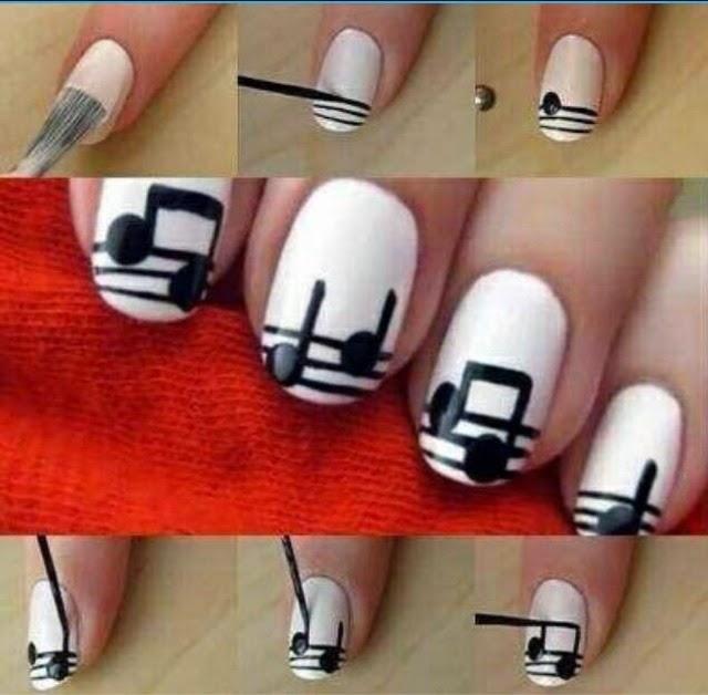 Tutorial Nail Art Yg Mudah Ideas