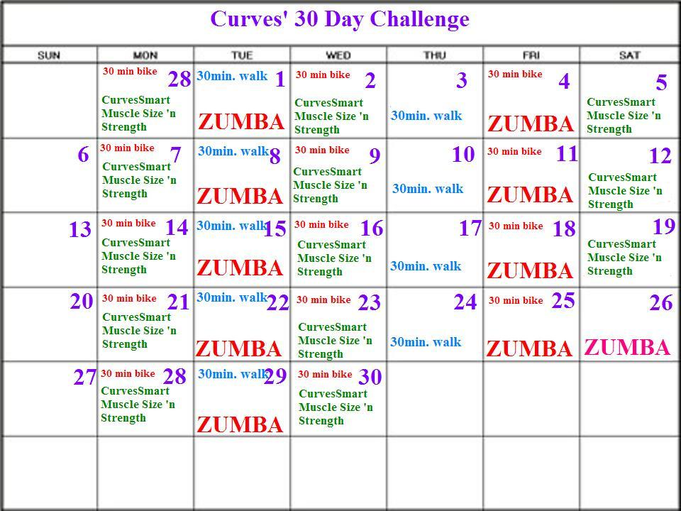 curves 30 day challenge