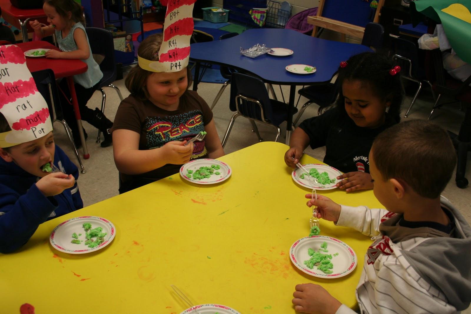Mrs Lee S Kindergarten Dr Seuss Activities