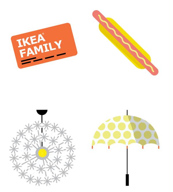 Emoticonos IKEA