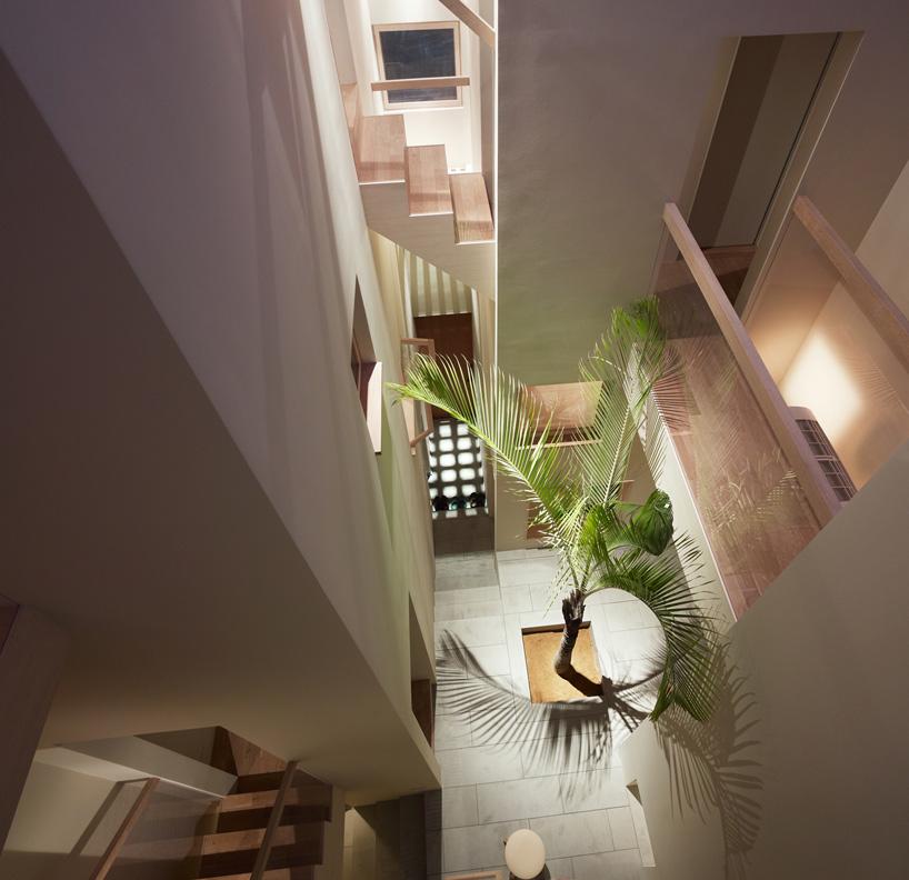 *建築師 Fujiwarramuro 居家住宅室內的戶外空間:日本 goido 中央庭園! 1