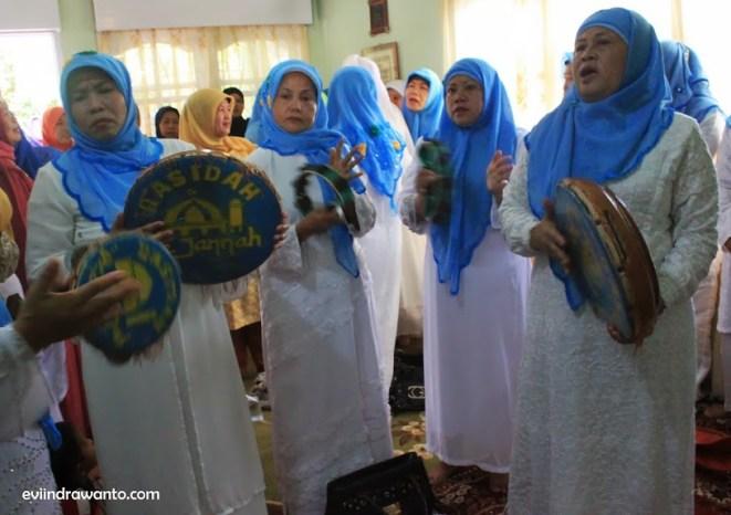 Group Rebana Ketimpring dalam Upacara Walimatul Hamli
