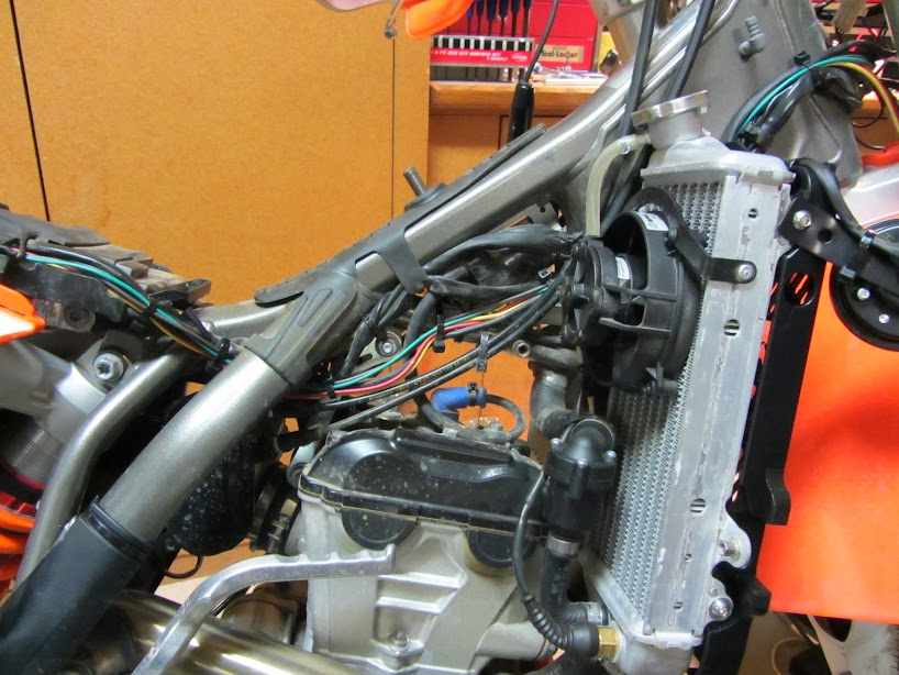 ktm wire harness routing