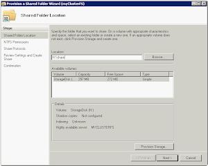How to : Failover Cluster for Windows Server 2008 R2