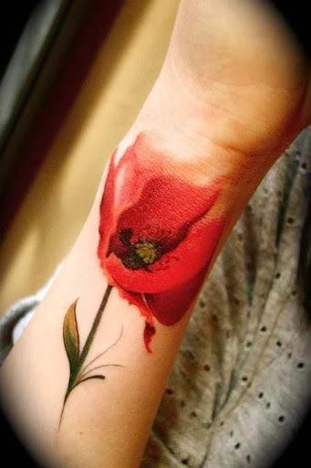 flwoer tattoos