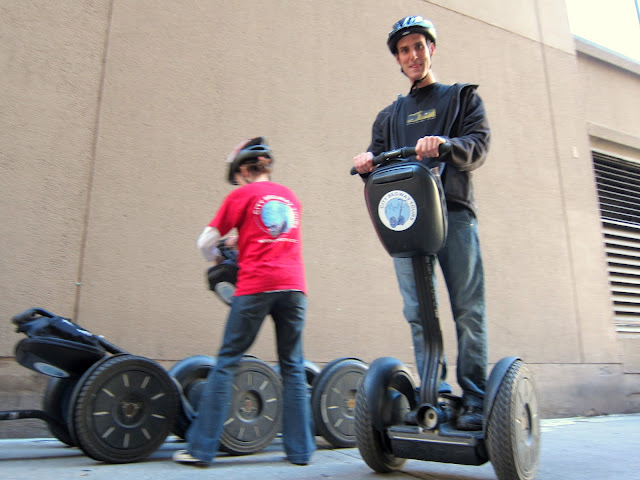Jack on a Segway