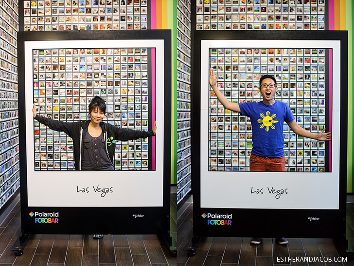 Polaroid Fotobar Las Vegas // Fun Things to Do in Las Vegas.