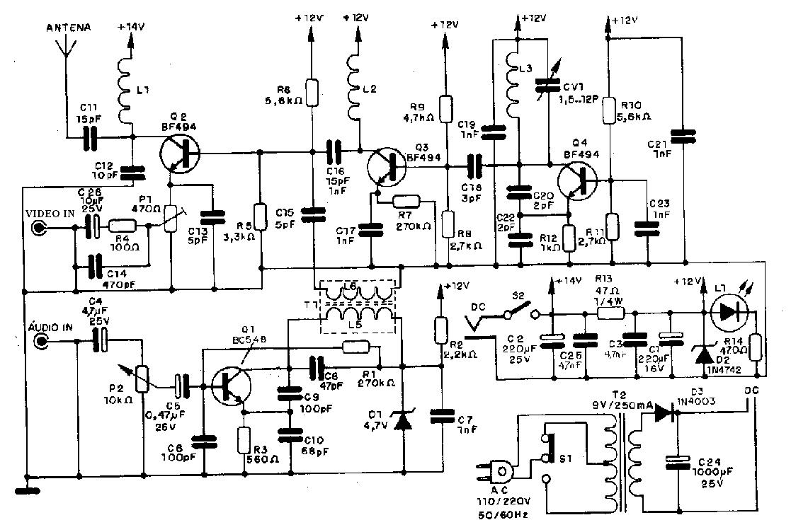 HOBBY ELETRÔNICA: micro transmissores fm am
