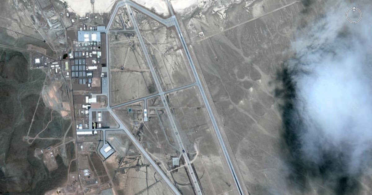Area 51 Google Earth