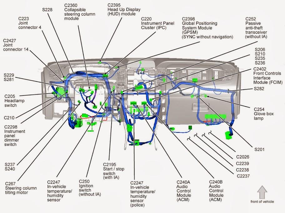 model a ford wiring diagram labelled of agama lizard for 2014 taurus sho w sony sound system car club america forum