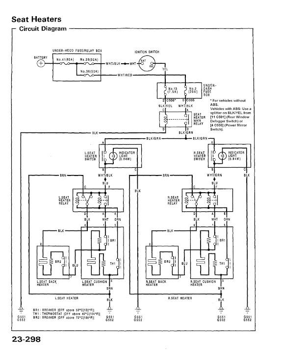 autozone wiring diagrams cub cadet deck belt diagram honda prelude service manual 92 96 instruction diy civic 9295 edm heated seats retrofit install guide hondatech forum discussion