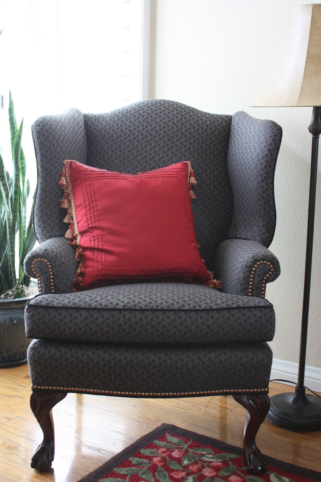 where to get chairs reupholstered bruno chair lift balanced style antique wingback