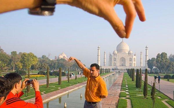 Taj Mahal y clichés