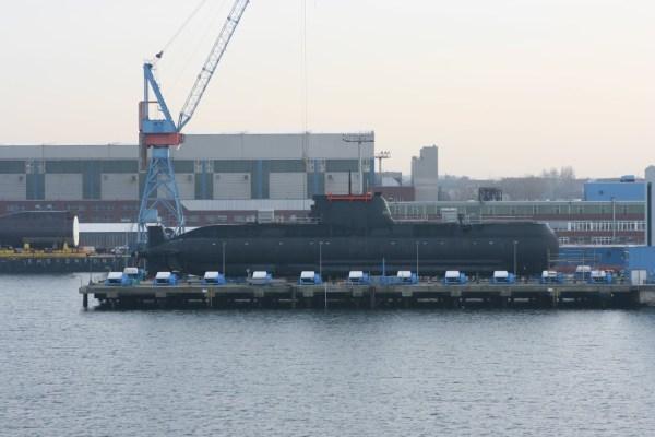 In Kiel werden U-Boote gebaut