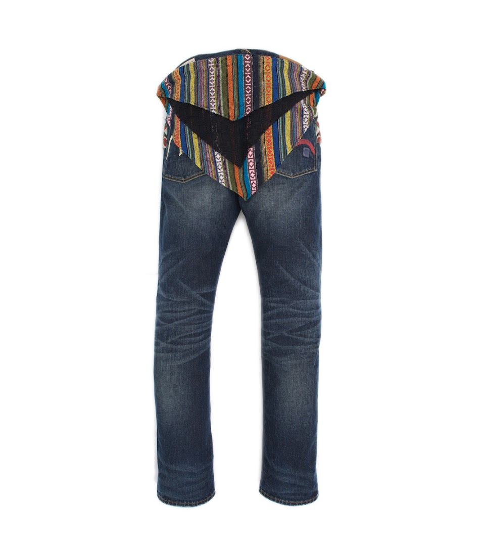 *EVISU x CLOT Case Study 001:限量民族風水洗丹寧褲! 1