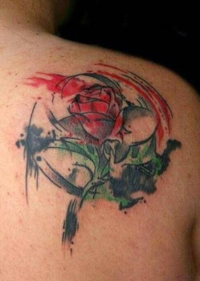 drawing rose tattoos