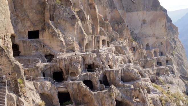Vardzia A Cave City In Pictures Jack And Jill Travel