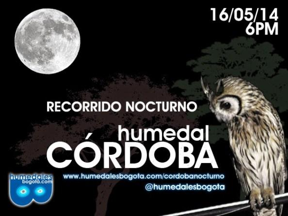 Recorrido Nocturno Humedal Córdoba