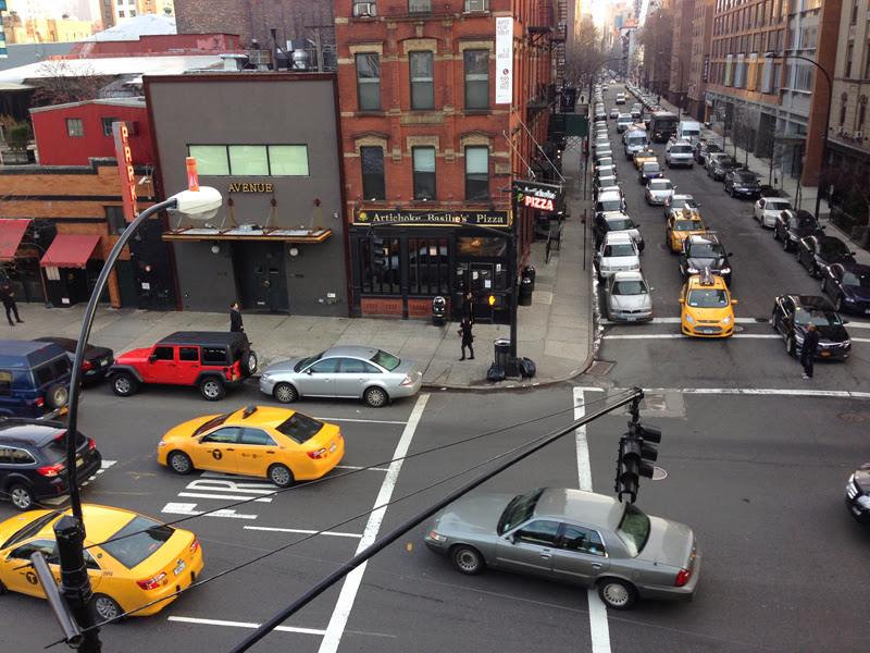 New york yellow cab highline