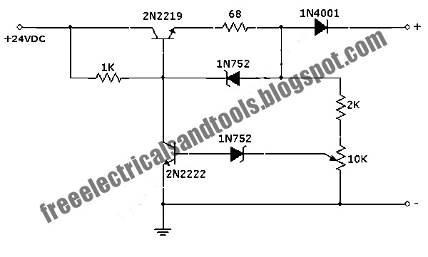 Free Schematic Diagram: Auto Off 12V NiCad Battery Charger
