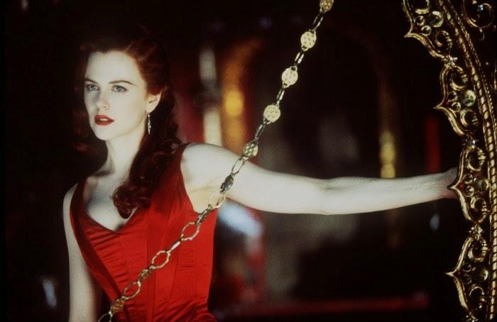 10 batons vermelhos do cinema Moulin Rouge
