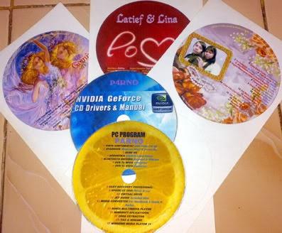 Cara Print  Cetak CD Label Dengan Sticker CD With All
