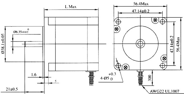 ชุดคิท มินิ CNC 4 Axis TB6560 Drive Board type V+NEMA 23