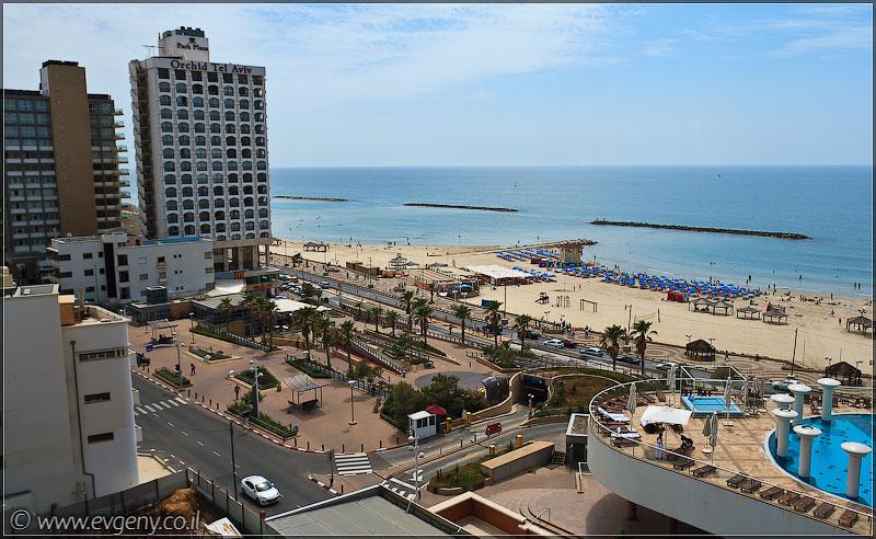 Тель Авив, набережная | Tel Aviv beach | חןף תל אביב