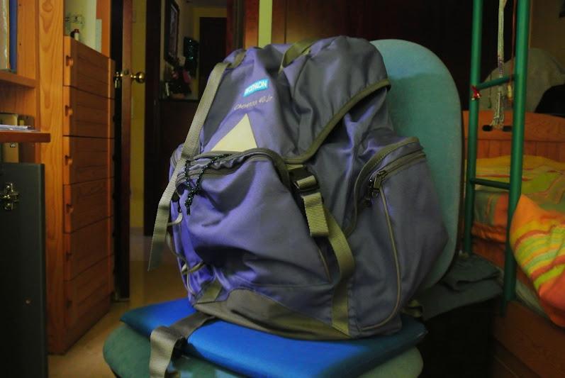 Mi nueva mochila para viajar