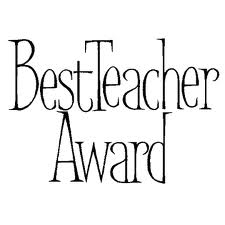 The Teacher's Korner: Best Teacher Award