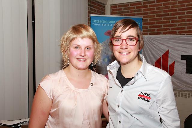 Elise Depoorter en Lieselot Decroix