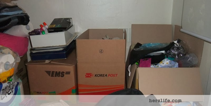 Sending Balikbayan Box from Korea to Philippines
