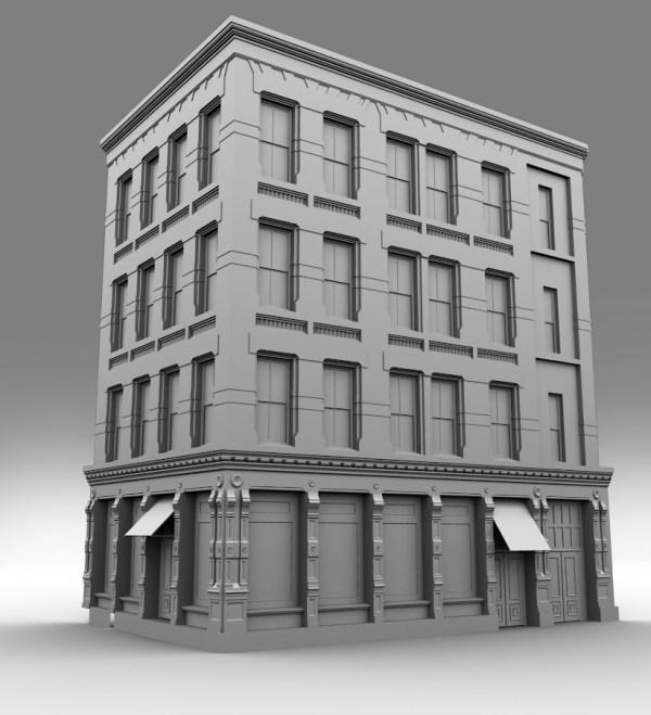 Building 3D Model Maya