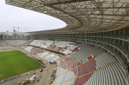 Reinauguracin Estadio Nacional de Lima  Per  IngCivilPeru