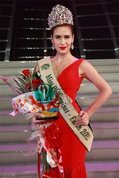 The Best of Philippines in Beauty Pageants in 2012 - Stephany Stefanowitz