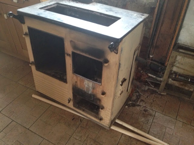 2 Air Solid Fuel Burning Cooker
