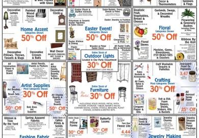 Hobby Lobby Weekly Sales Ad