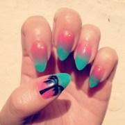 yocandy summer ombr nail art