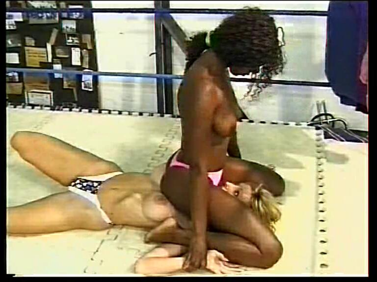 Interracial Femfight Video Preview Carmen vs Anne Marie TPC Wrestling 1498