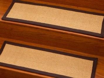 Casual Elegance 9 X 29 Sisal Carpet Stair Treads Cotton Binding | Sisal Carpet Stair Treads | Area Rugs | Fiber Sisal | Natural Fiber | Etsy | Oak Valley