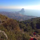 IX Mitja Marató de Muntanya Serra d'Oltà - Calp (15-diciembre-2013)