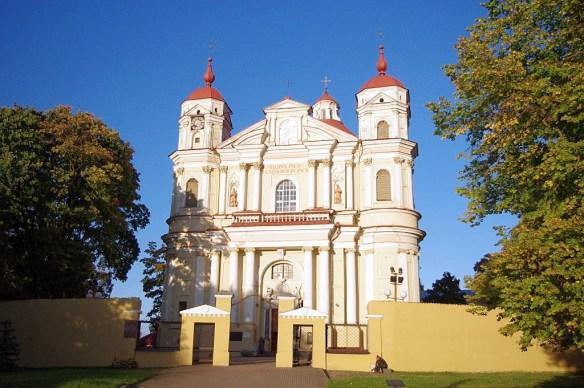 Iglesia de San Pedro y San Pablo, Vilna, Vilnius