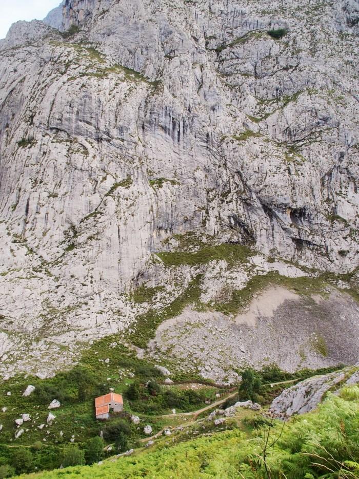 Small house, big rock