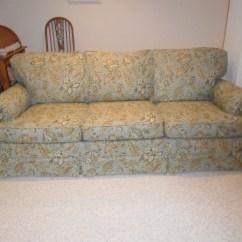 Sofa Slipcovers Three Cushions White Linen Tufted 3 Cushion